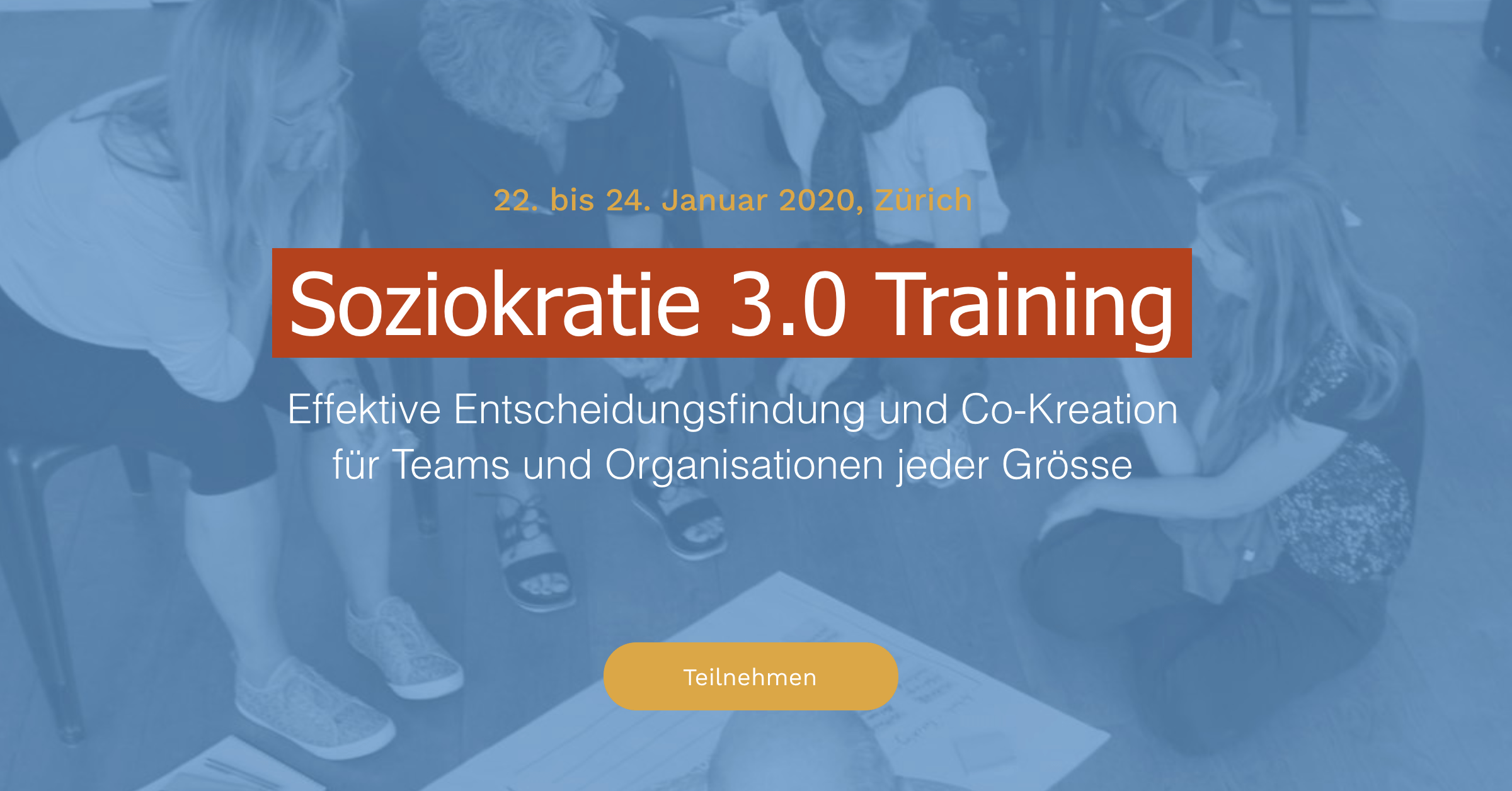 Soziokratie 3.0 Training Schweiz