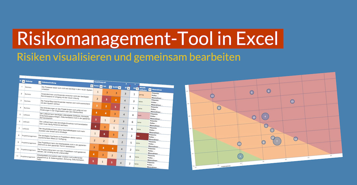 Risikomanagement-Tool in Excel